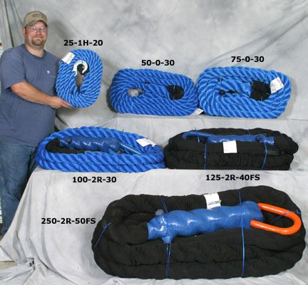 Photo of man holding blue rope