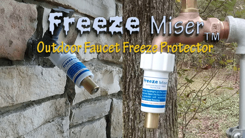 Photo of frozen spigot